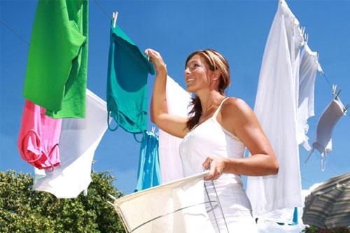 quần áo sạch